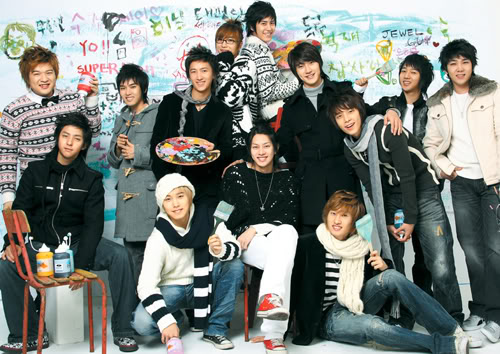 تقــــــرير قنــــبلة كوريـــــــــا-- super junior--