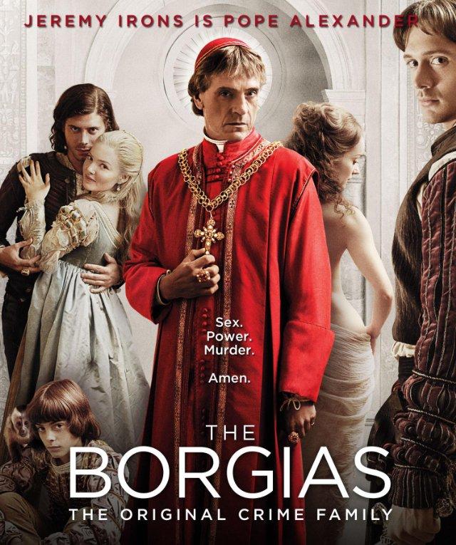 حصريا المسلسل الجميل والمضحك Borgias