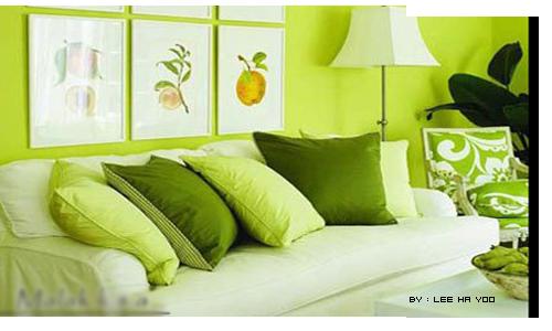 ديكورات اخضر جديده 2012 جديد