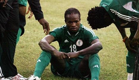النيجيرية إختطافه