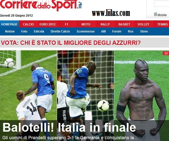 الصحافة الإيطالية:
