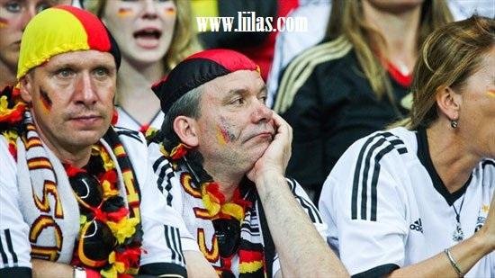 الإحباط المدرجات الألمانية