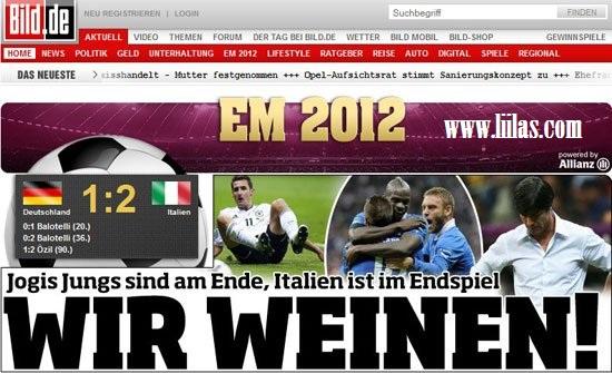 الصحافة الالمانيه: