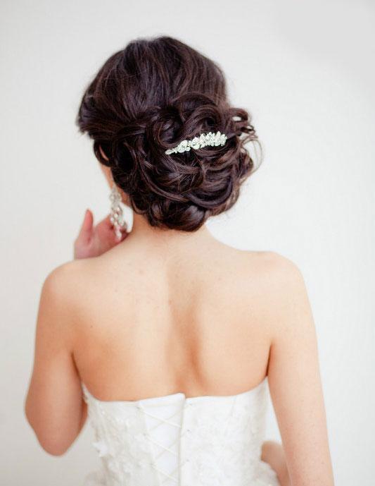 تسريحات شعر لعروس 2013 عاجل تسريحات