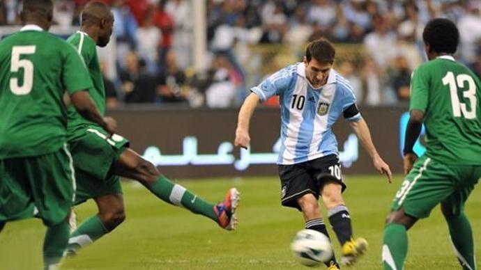 السعودية الأرجنتين التعادل